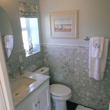 Beach Style Bathroom by All About You - Ann & Angelo Cane/Kristen Spencer