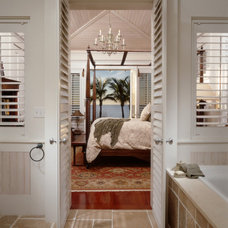 Tropical Bathroom by Cooper Johnson Smith Architects and Town Planners