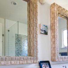 Beach Style Bathroom by Charmean Neithart Interiors, LLC.