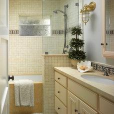Beach Style Bathroom by Nancy Van Natta Associates