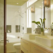 Beach Style Bathroom by Pamela Pennington Studios