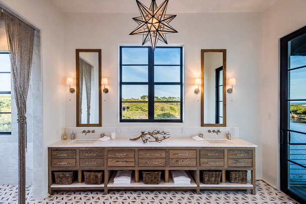 Ideal Mediterranean Bathroom by Coastal Elements Construction