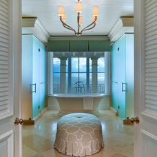 Tropical Bathroom by Kurtz Homes Naples
