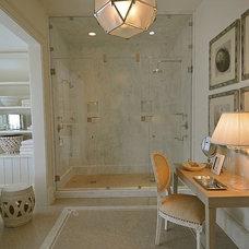Traditional Bathroom by Bill Huey + Associates