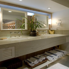 Beach Style Bathroom by Ambience Photography