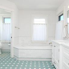 Beach Style Bathroom by Baskam Construction Services