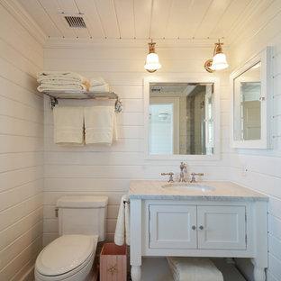 Example Of A Coastal Bathroom Design In New York Save Photo Beach House