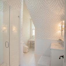 Beach Style Bathroom by Blake Development Corporation