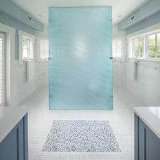 Beach Style Bathroom by Anthony Wilder Design/Build, Inc.