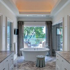 Beach Style Bathroom by Highgate Builders
