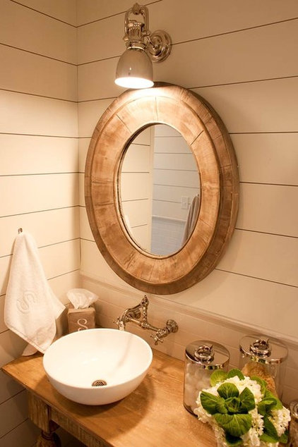 Beach Style Bathroom by Munger Interiors