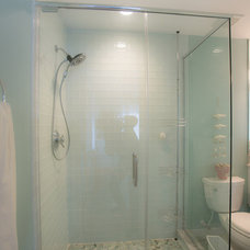 Beach Style Bathroom by J.M. Froehler Construction