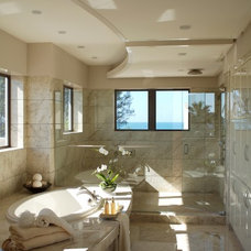 Contemporary Bathroom by Little Palm Design Group