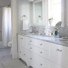 Beach Style Bathroom by Molly Frey Design