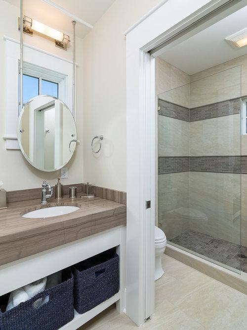 Beach Style Bathroom Design Ideas, Remodels & Photos with ...