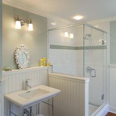 Beach Style Bathroom by Laplante Construction Inc.