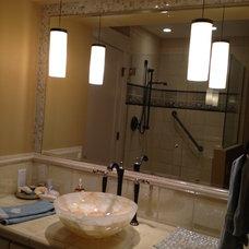 Traditional Bathroom by Avalon Interior Design