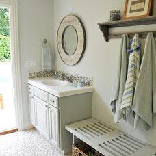 Traditional Bathroom by Renovation Design