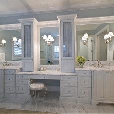 Traditional Bathroom by Studio M Interior Design, Inc.