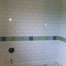 Tropical Bathroom by Stepping Stone and Tile