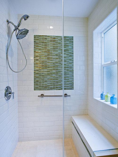 Marvelous Beach Style Alcove Shower Idea In San Francisco