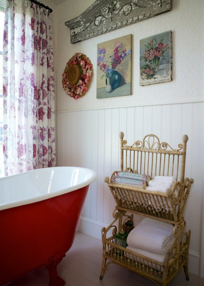 Shabby-chic Style Bathroom Beach Style Bathroom