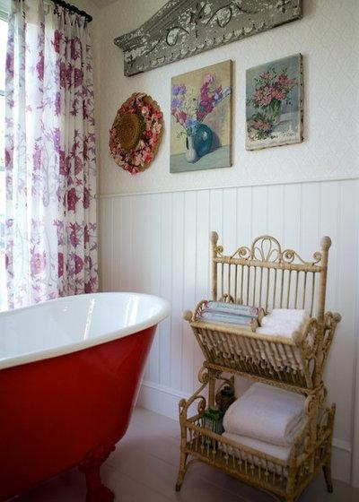 シャビーシック調 浴室 Beach Style Bathroom