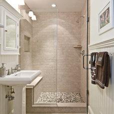 Beach Style Bathroom by Benco Construction