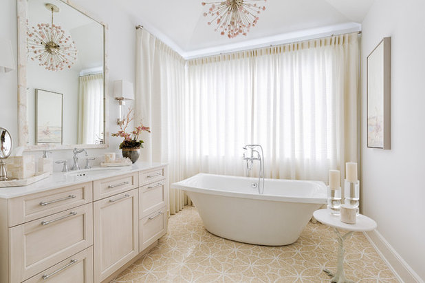Beach Style Bathroom by Carrie Brigham Design