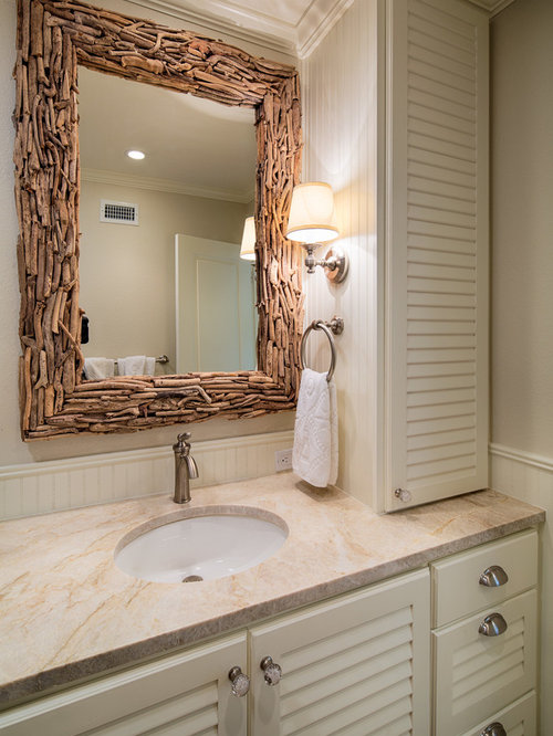 Driftwood Mirror Houzz