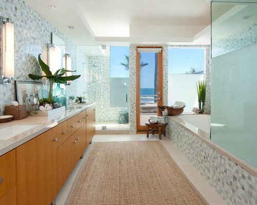 Beach Style Bathrooms Ideas Pictures Remodel and Decor – Beach Bathrooms