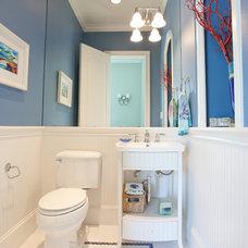 Beach Style Bathroom by Creative Touch Interiors