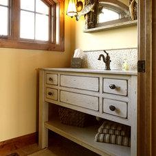 Beach Style Bathroom by Carissa Trygstad @ Showplace Kitchens