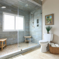 Beach Style Bathroom by Amy Trowman Design