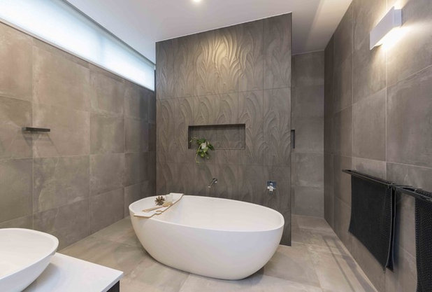 Contemporary Bathroom by White Pebble Interiors