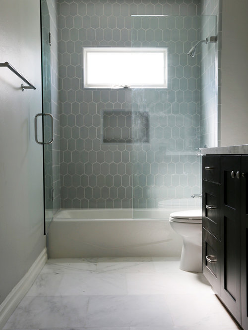 Large Tub Shower Combo Design Ideas Remodels Photos