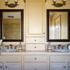 Transitional Bathroom by Van Nice Design