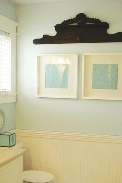 Traditional Bathroom by Chris  Kauffman