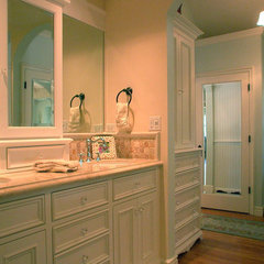 traditional bathroom by Barbara Stock Interior Design