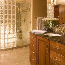 Traditional Bathroom by Riddle Construction and Design