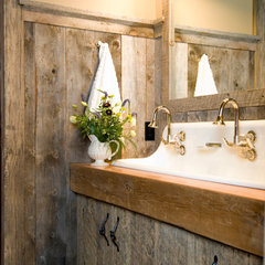 eclectic bathroom by Montana Reclaimed Lumber Co.