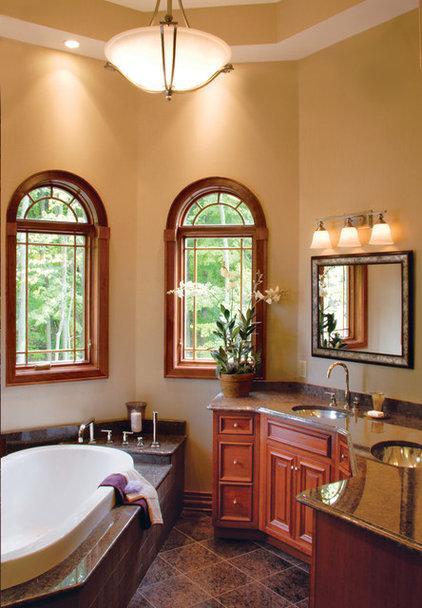 Traditional Bathroom by Beaugureau Studios