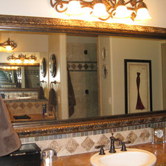 traditional bathroom by Reflected Design - Frames for Existing Mirrors