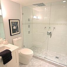 Craftsman Bathroom by Rain City Renovations