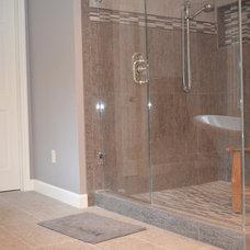 Traditional Bathroom by Carpetland Carpet One Floor & Home