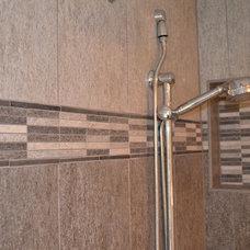 Transitional Bathroom by Carpetland Carpet One Floor & Home