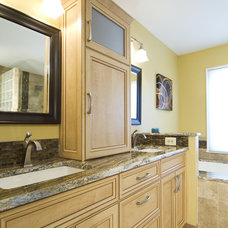 Eclectic Bathroom by Summit Design Remodeling, LLC