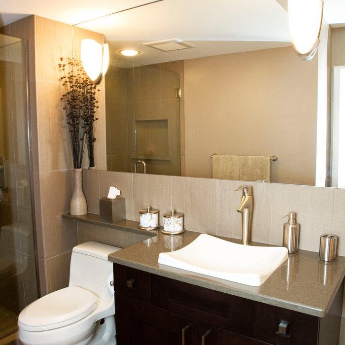 Subtle Gray Bathroom