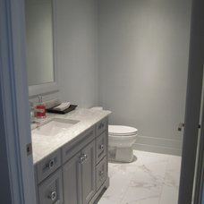 Contemporary Bathroom by Signature Custom Cabinets