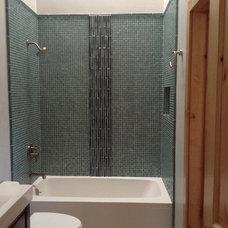Contemporary Bathroom by XS Studio by Oceanside Glasstile
